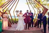Azul Fives Christian Wedding Brittany and Derenik_0035