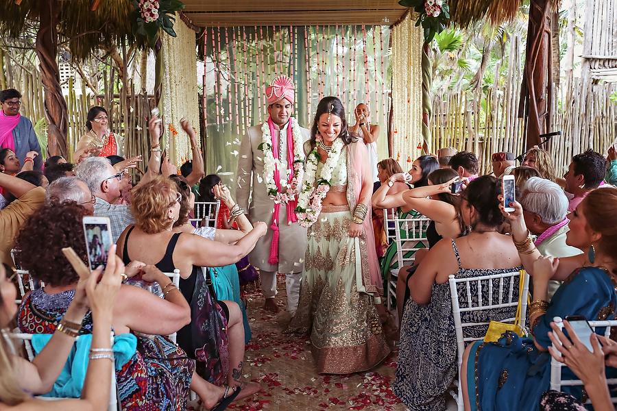 Cultural Bohemian Tulum Mexico Wedding