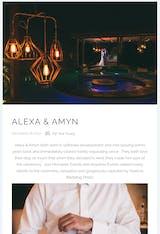 NOVELTY LUXE MAGAZINE | BRIDAL | ALEXA & AMYN
