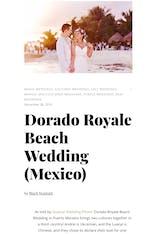 Dorado Royale Beach Wedding (Mexico)