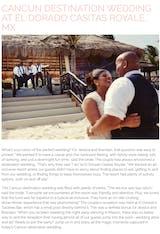 CANCUN DESTINATION WEDDING AT EL DORADO CASITAS ROYALE, MX